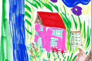 Zeichnung Wohnen Katrin